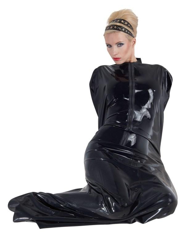Latex saunazak zwart