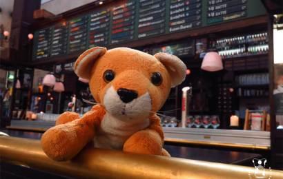 Fluffy bezoekt regelmatig Biercafé Oliver