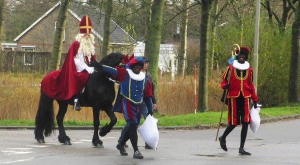 Sinterklaas in Westeinde