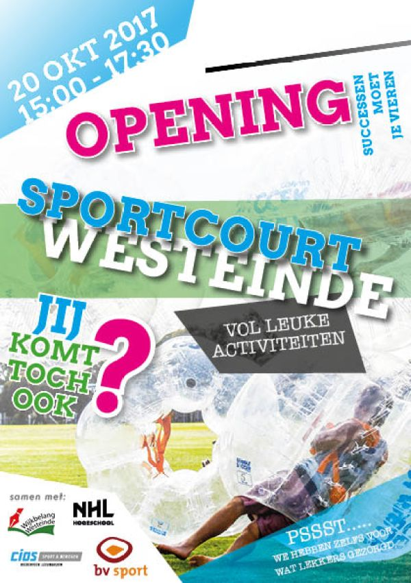 Opening voetbalkooi