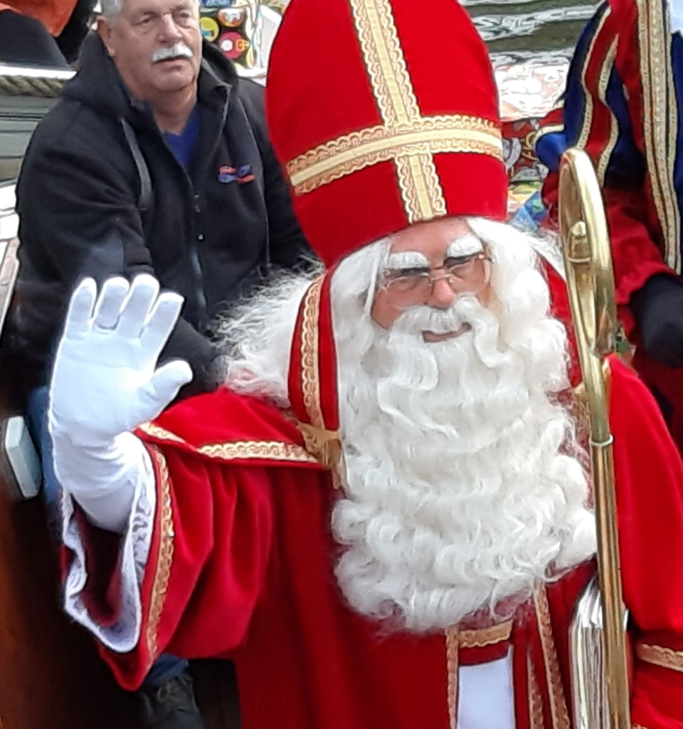 Sint in de boot