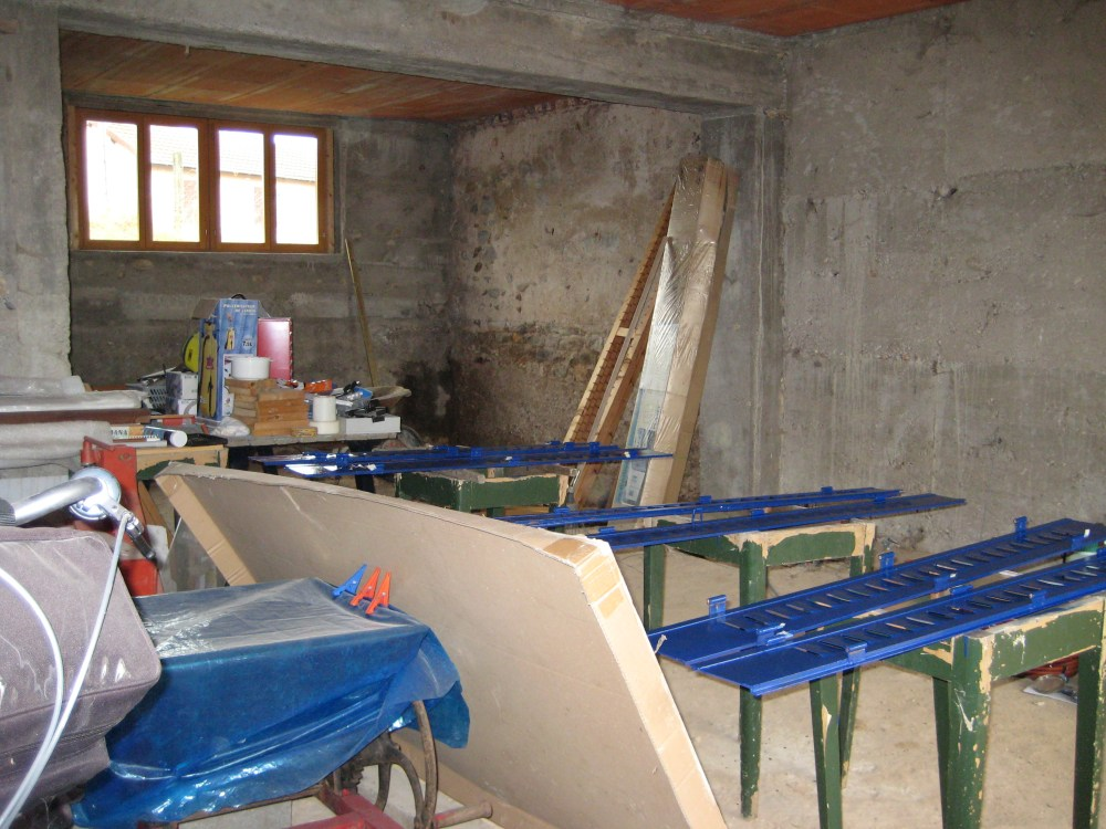 Fase 2: Nieuw balkenplafond 1e verdieping (4/4)