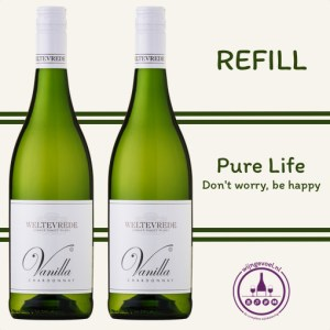 refill wijnbeleving pure life white pair