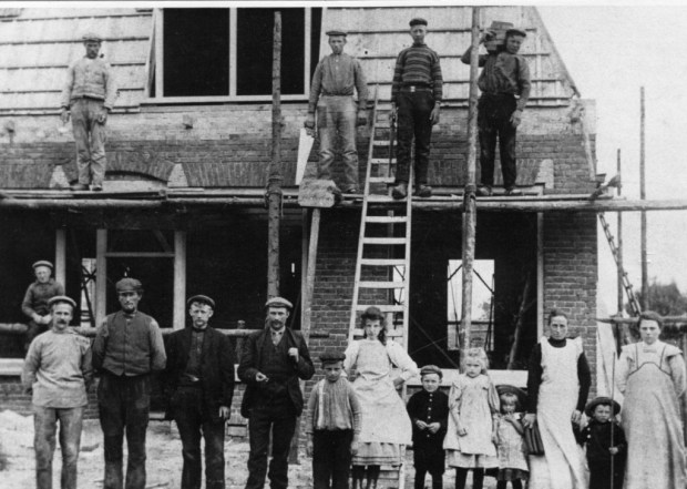 HF_Merkebuorren_Durk_slagerij tolman 1920