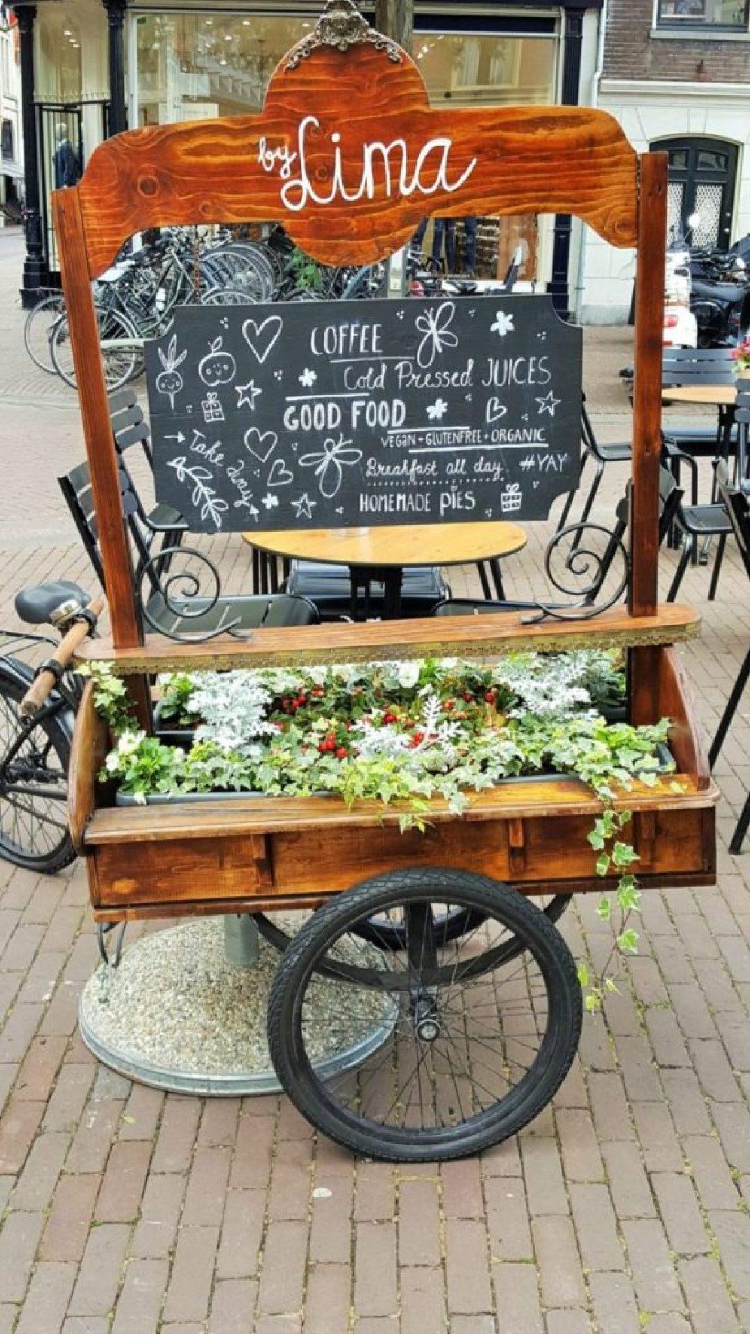 Hapje en drankje in Haarlem