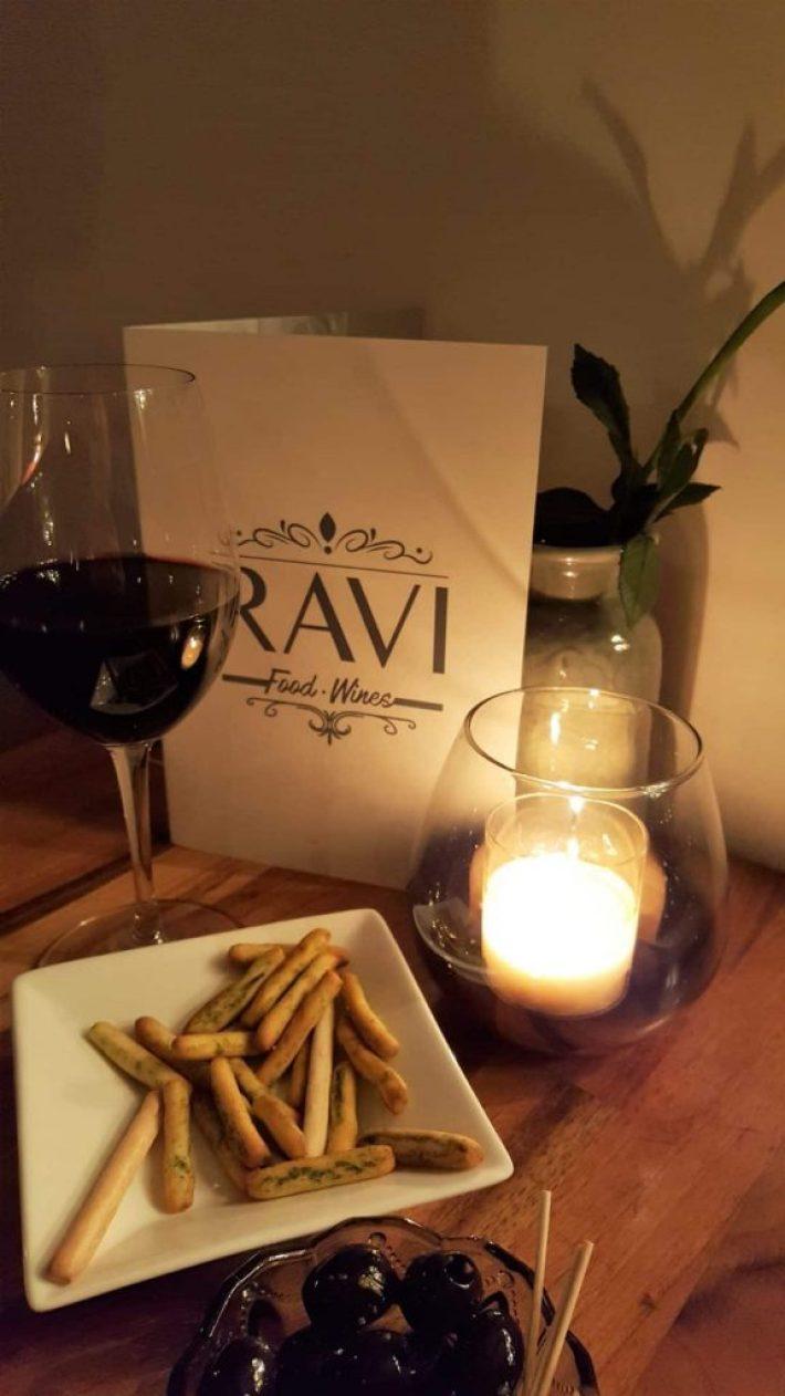 Wijnbar in Den Haag: Ravi