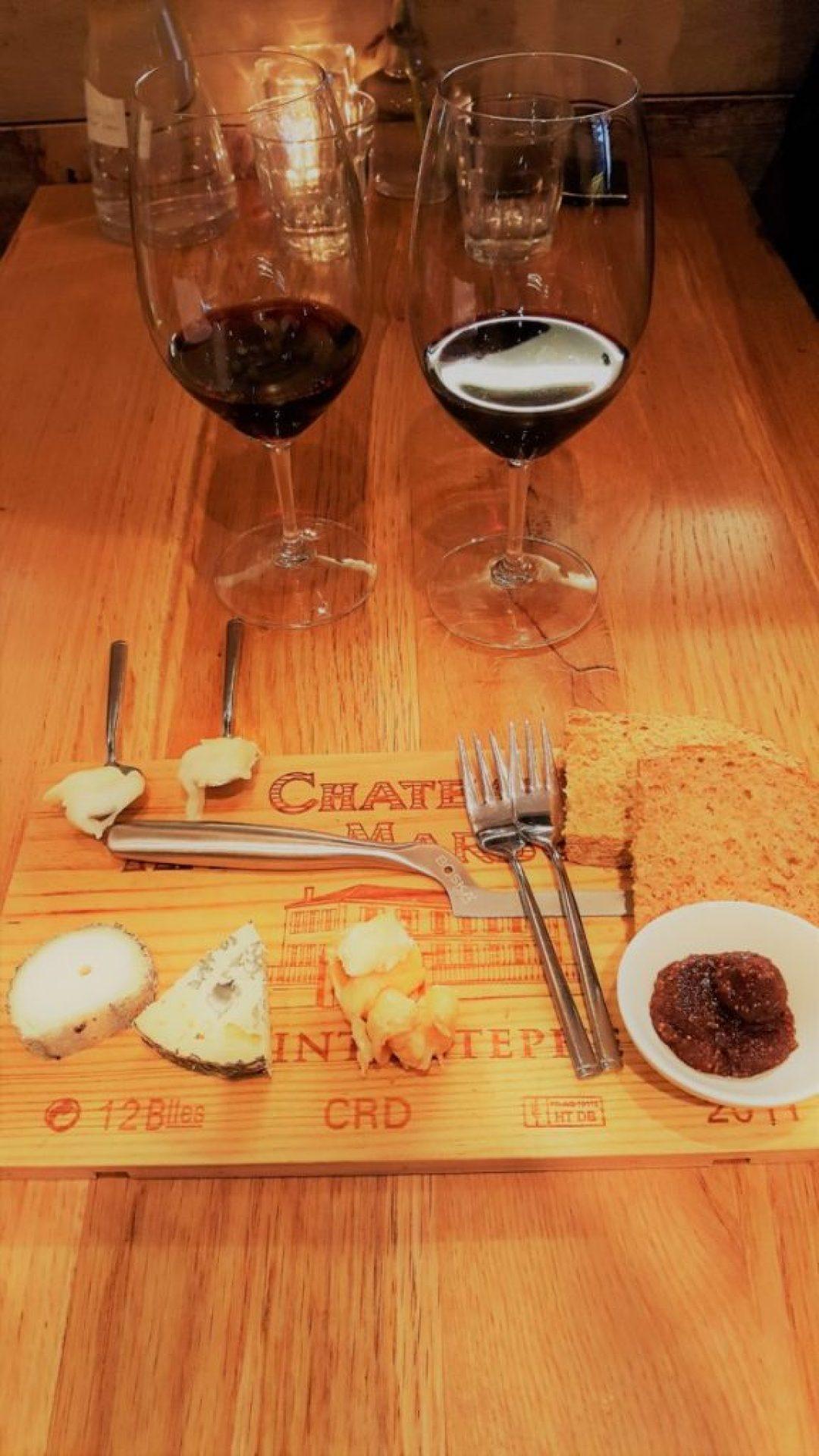 Wijn bij Stijn kaas