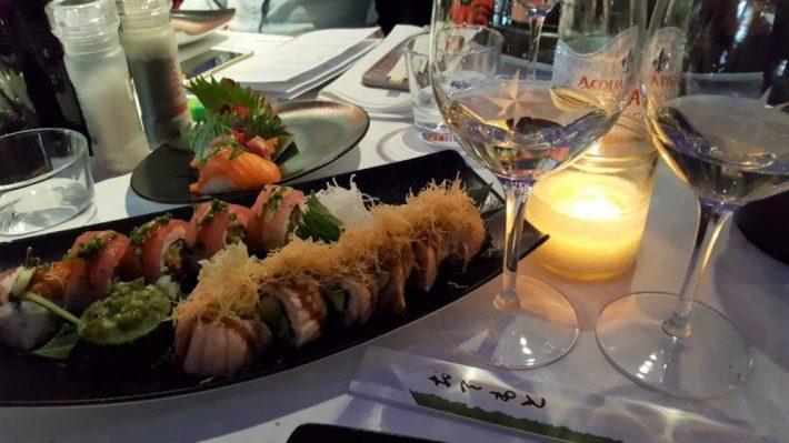 loire wijn met sushi