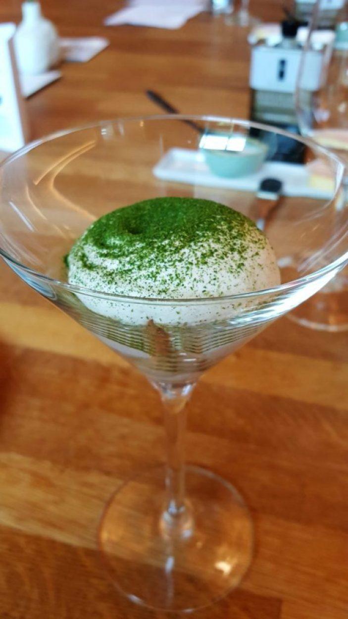 restaurant Fris in Haarlem: amuse thom kha kai
