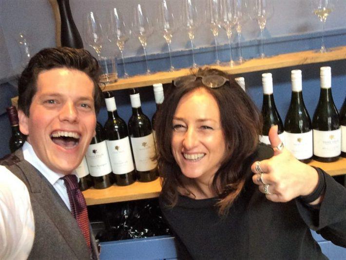 Australische wijn proeven: Bart en Virginia Willcock