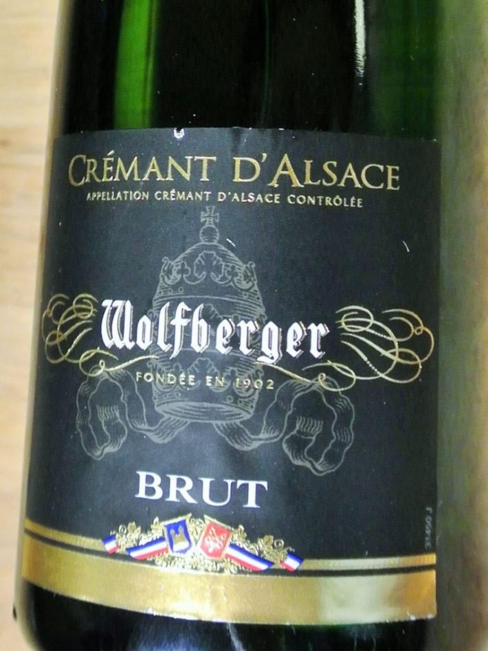 Crémant d'Alsace etiket