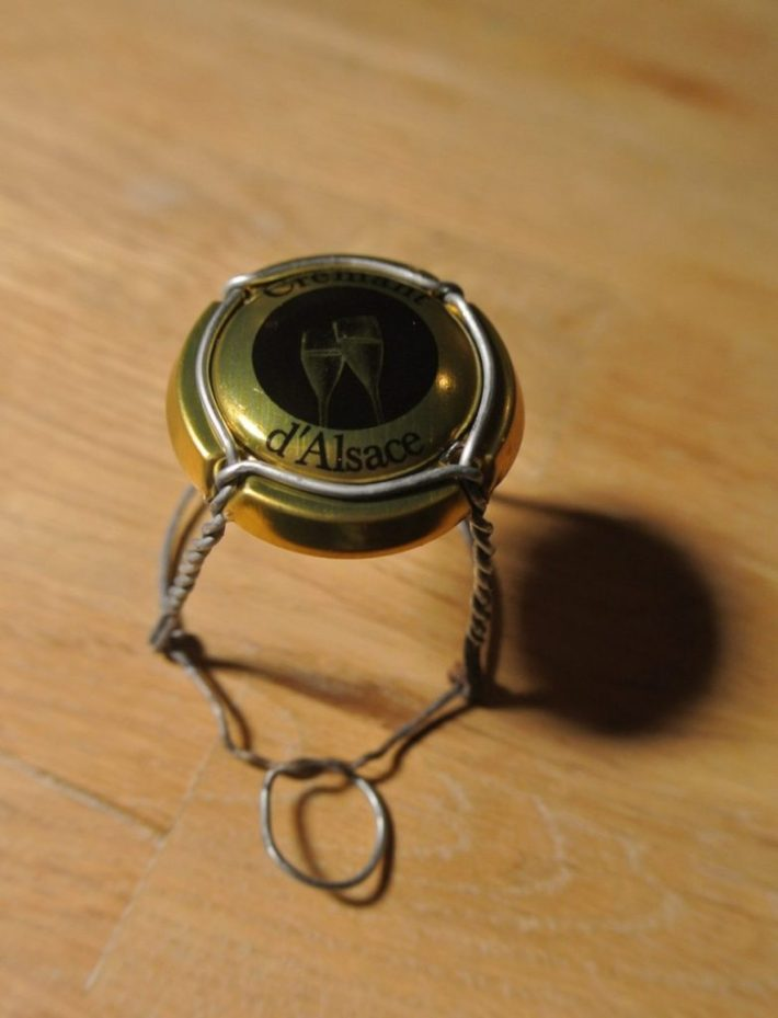 Methode traditionelle of methode champenoise: muselet