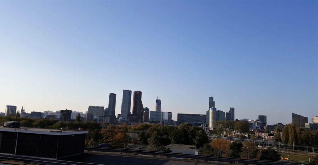 Bink rooftop bar en restaurant: uitzicht