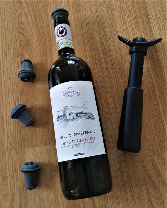 wijn cadeau voor een wijnliefhebber: Vacu Vin