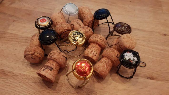 alternatieven voor champagne: de kurken en muselets