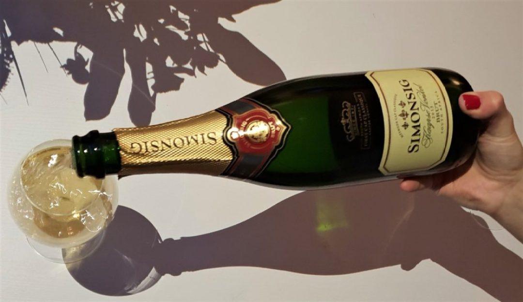 alternatieven voor champagne: Simonsig Kaapse Vonkel Brut