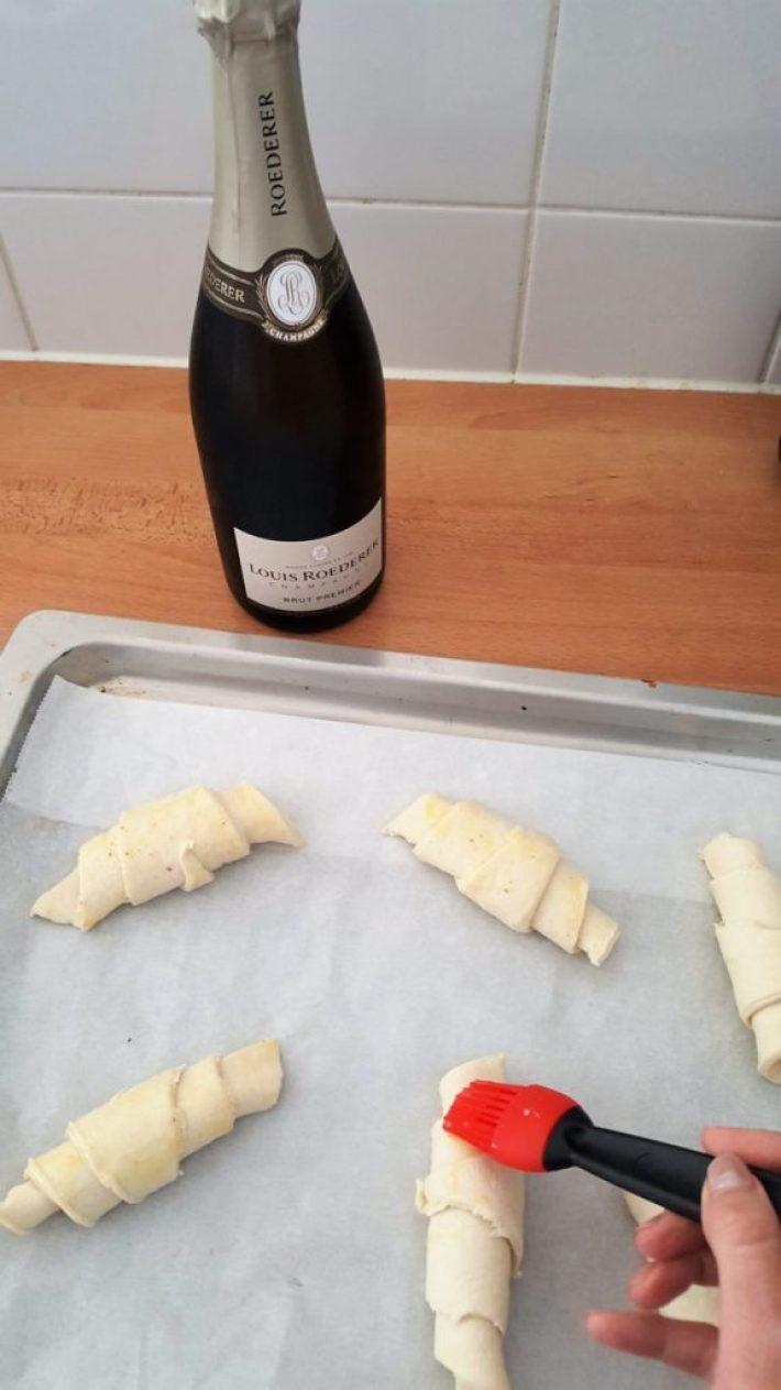 Champagne ontbijt maken: de voorbereidingen