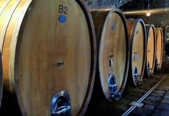 Tannine uit eikenhouten wijnvaten