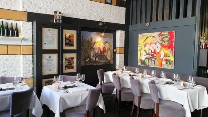 Borrelen en eten in Maastricht: interieur wijnrestaurant Mes Amis