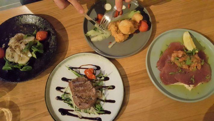 Borrelen en eten in Maastricht: dock five gerechten