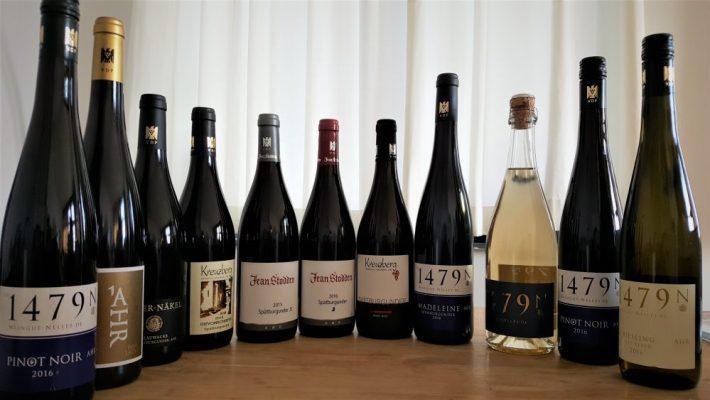 wijnflessen uit de Ahr