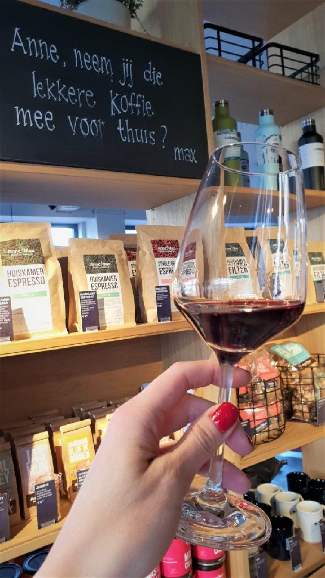 high wine bij Anne en Max