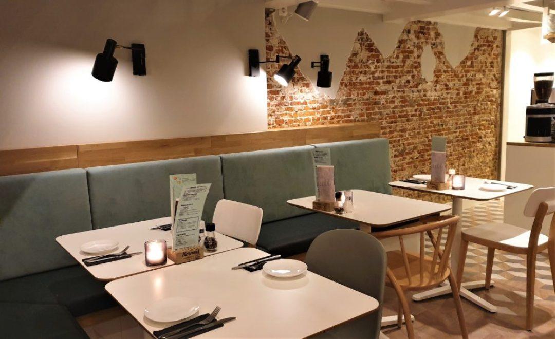 Leuke restaurants in Leiden: Aan de Rijn interieur