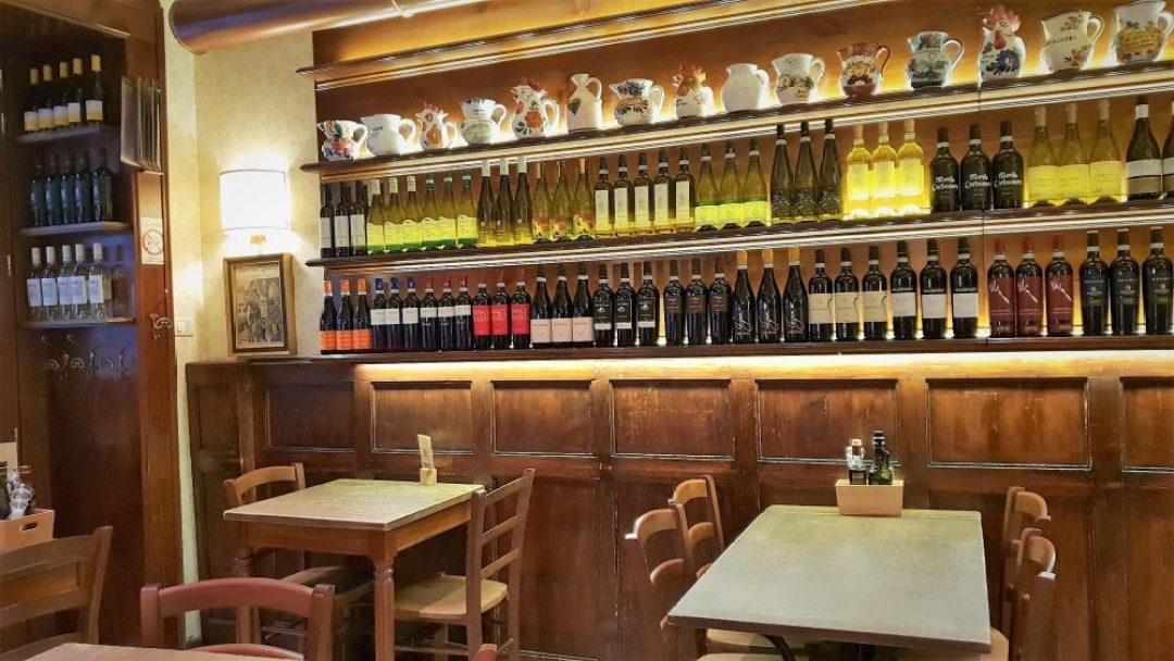 Tips voor restaurants of wijnbar in Verona Italië: Cafe Monte Baldo
