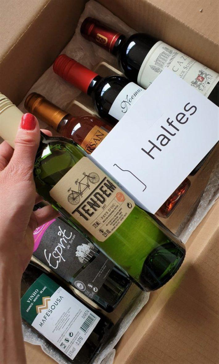 Tendem van Halfes wijn