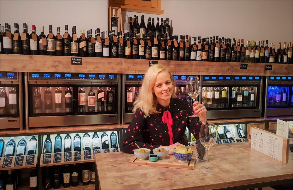 Tips voor restaurant of wijnbar Verona Italië: wijnbar Symposio