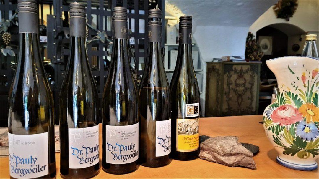Wijnreis Moezel en Duitse wijn: Dr Pauly Bergweiler wijnproeverij