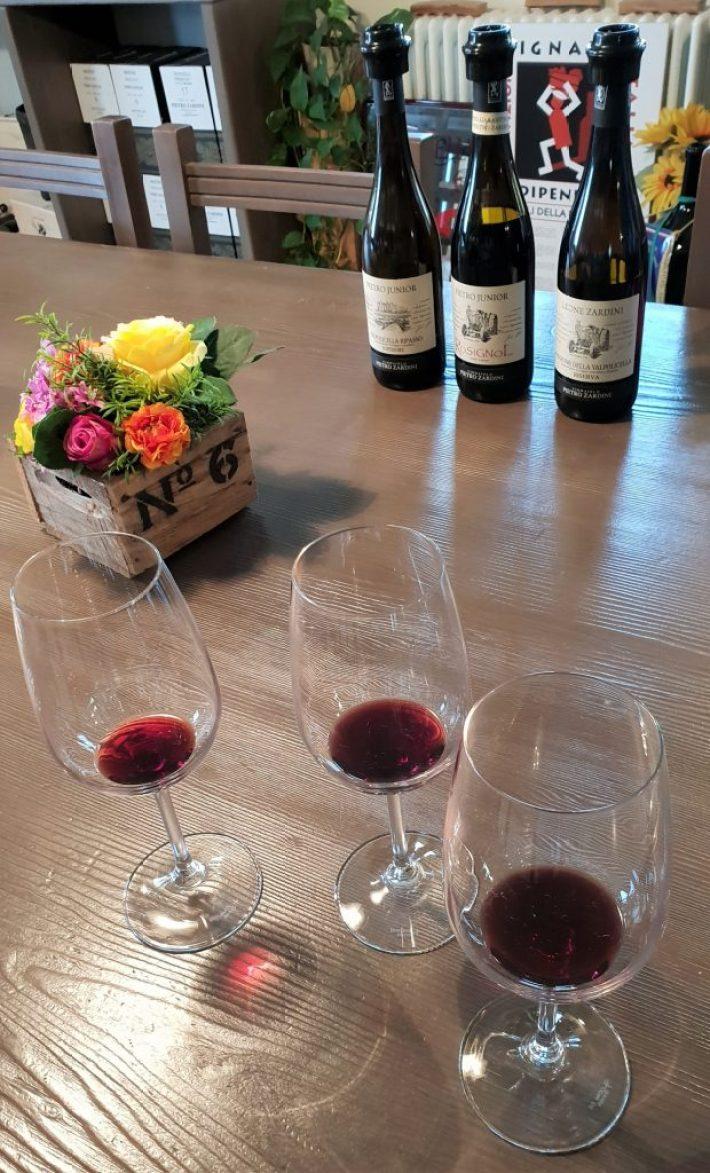 wijnreis naar Valpolicella: Pietro Zardini wijn proeven