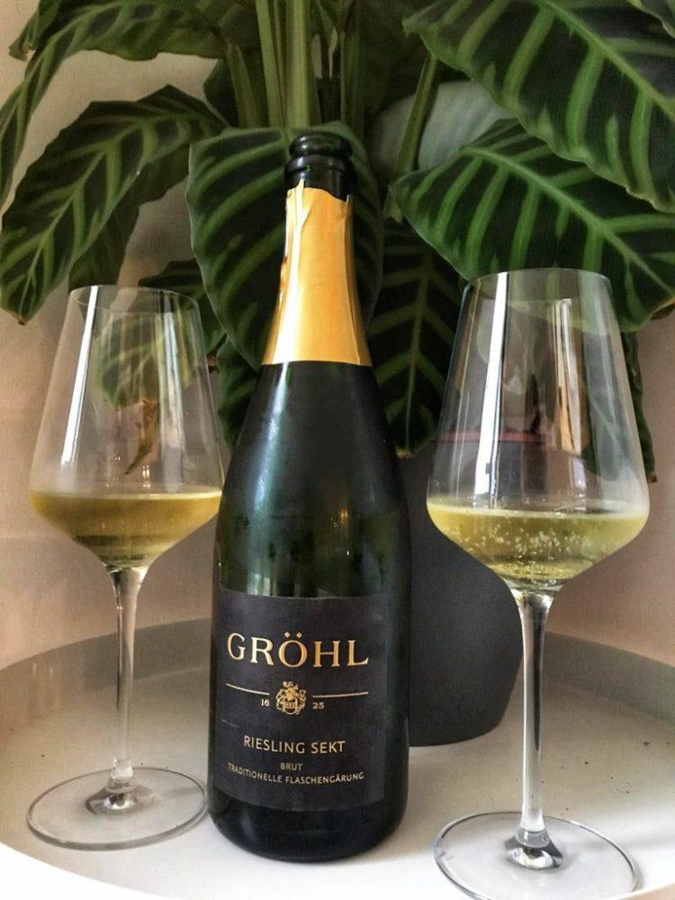 Sekt wijn Grohl: Duitse mousserende wijn