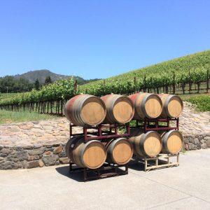 wijn en hout