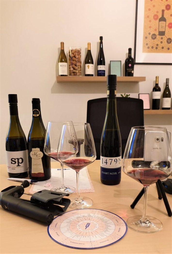 online live wijn proeverij
