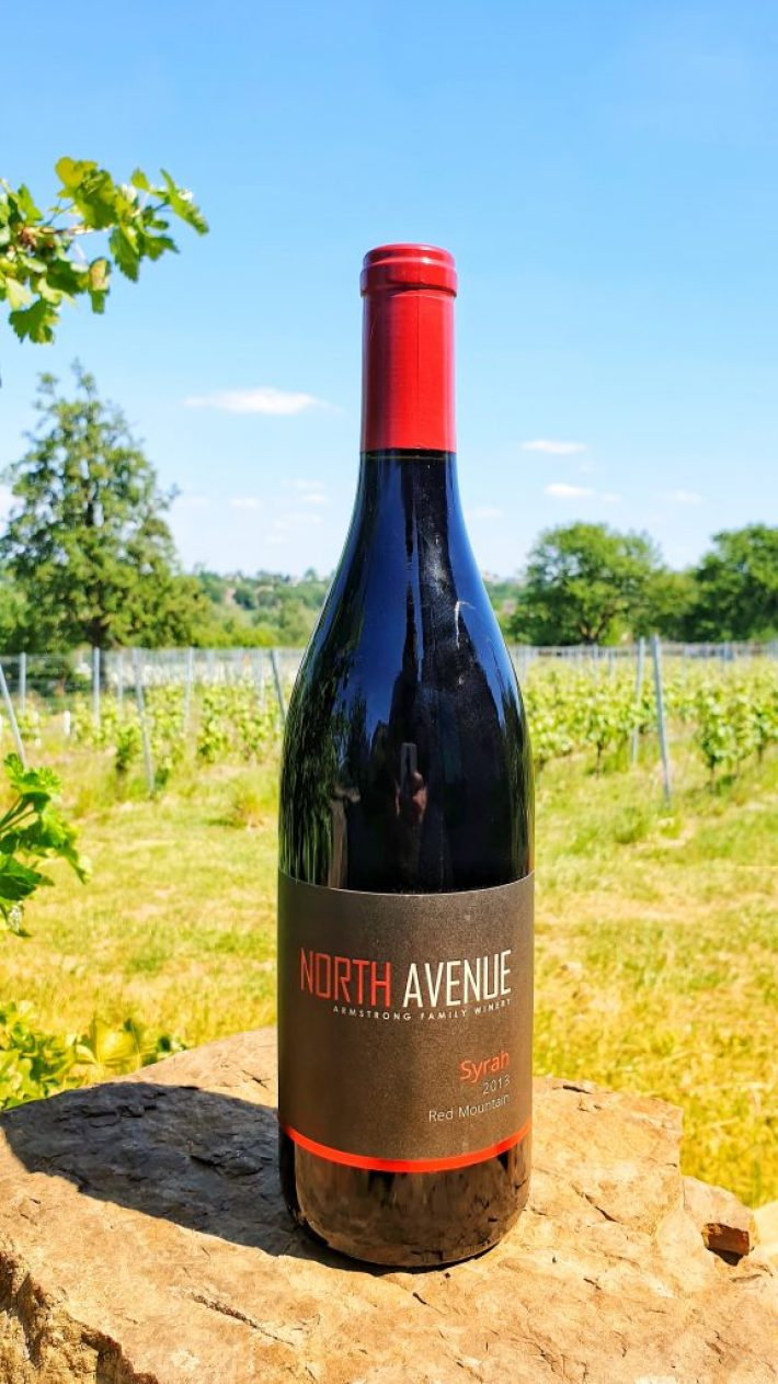Syrah North Avenue Armstrong Red Mountain