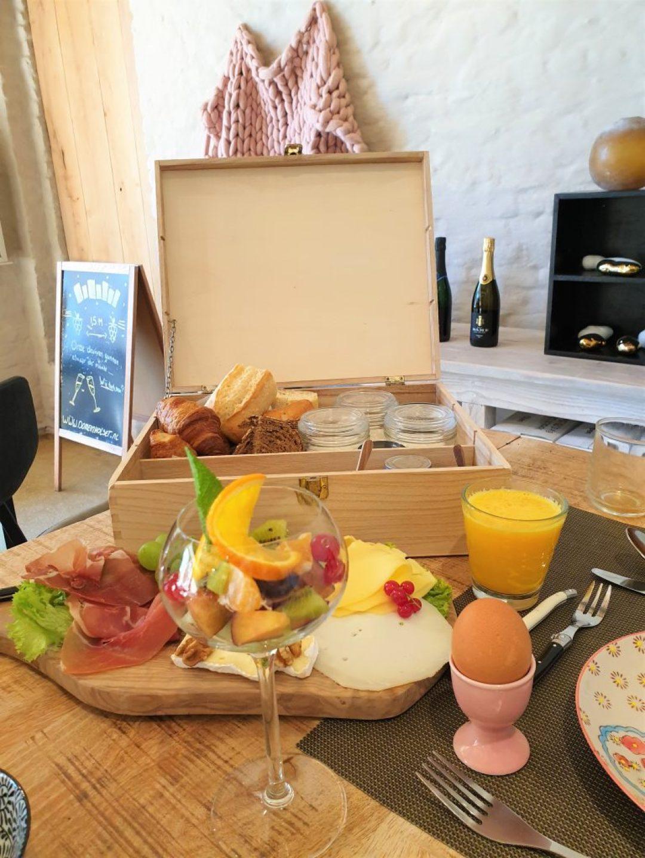 ontbijt bij Domein Holset