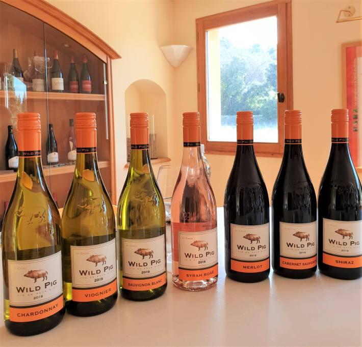 wild pig wines