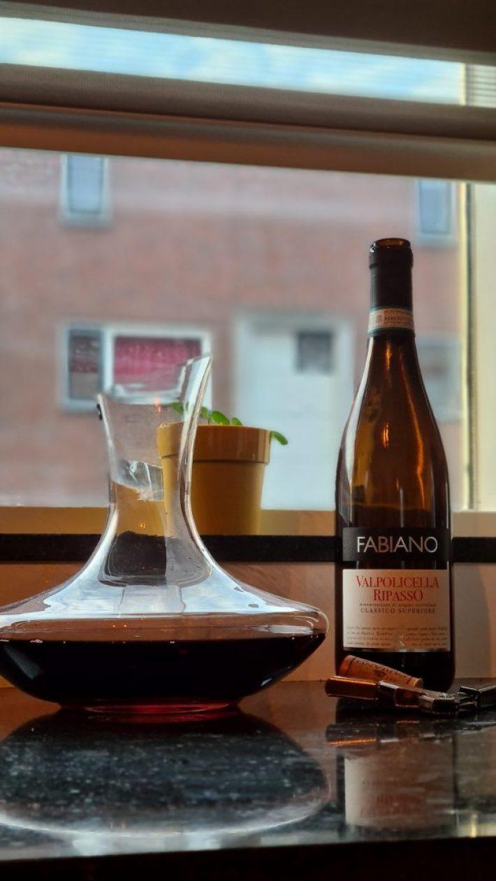 decanteerkaraf wijn