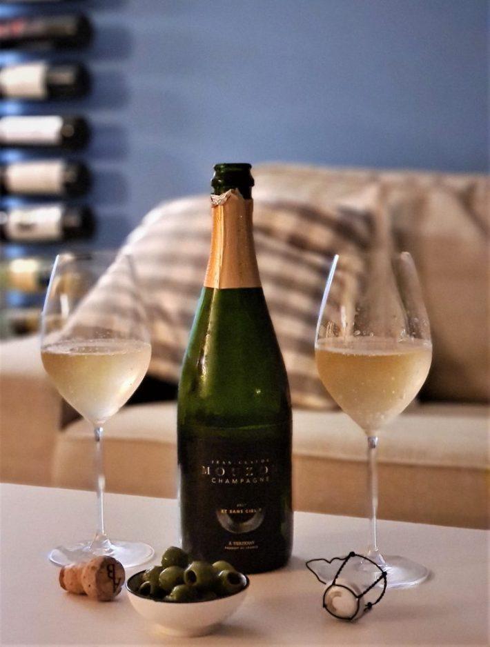 Jean Claude Mouzon champagne Et sans Ciel