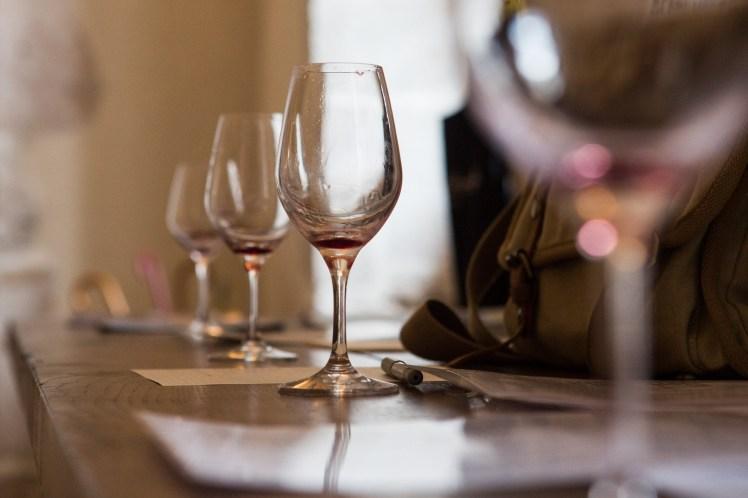 Na het wijnproeven in Bourgogne