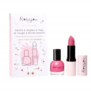 Rosajou Nagellak en Lippenstift