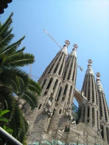 La Sagrada Familia, Barcelona, Spanje