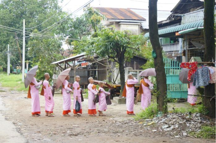 Bago Lady Monks