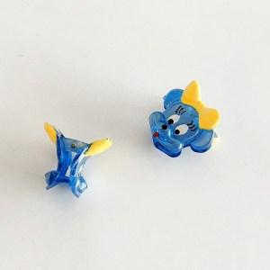 Krásny detský štipec do vlasov v tvare Minnie Mouse. Vhodný pre deti aj dospelé ženy. Farba- modrá. Rozmer: 3cm