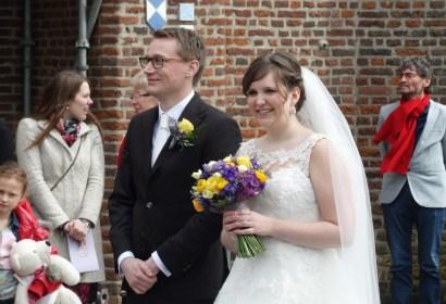 Huwelijk Evi & Robbert 9-4-2016