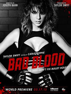 "Taylor-Swift-'Bad-Blood'-Poster-01-662x8821 Taylor Swift - ""Bad Blood"""
