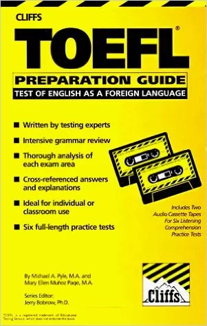 Free Download Cliff's TOEFL Preparation Guide Ebook + Audio CD