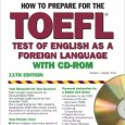 Barron's How to Prepare for the TOEFL with CD-ROM, 11th Edition - Wikitoefl.net