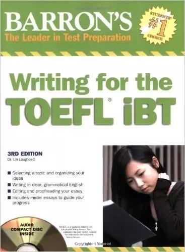 Toefl ibt barrons book free